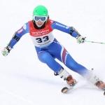 Slowakin Petra Vlhová  gewinnt Europacup-Slalom in Levi