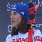 Petra Vlhová muss auf Start beim Super-G in St. Moritz verzichten.