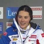Halbzeitführung für Petra Vlhovà beim Torlauf in Levi