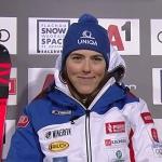 Souveräne Halbzeitführung für Petra Vlhová beim Slalom in Flachau
