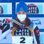 Petra Vlhová, das Team und Trainer Mauro Pini streben nach olympischem Edelmetall