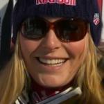 Lindsey Vonn mit Bestzeit beim Abschlusstraining in Cortina d'Ampezzo
