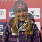 Lindesey Vonn gewinnt Abfahrt in Val d'Isere