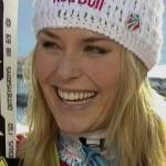Lindsey Vonn gewinnt Super G in Tarvisio und holt sich Super G Weltcupkugel