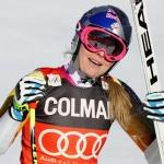 Lindsey Vonn mit Bestzeit beim Abschlusstraining in St. Moritz