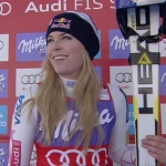 Lindsey Vonn meldet sich bei der Abfahrt in Cortina d'Ampezzo eindrucksvoll zurück