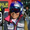 Lindsey Vonn liegt nach Kombinationsabfahrt in Val d'Isere in Führung
