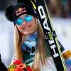 Lindsey Vonn erzielt Tagesbestzeit beim 1. Abfahrtstraining in Jeongseon