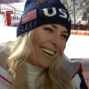 Lindsey Vonn überzeugt mit Tagesbestzeit beim 1. Olympischen Abfahrtstraining