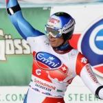 Europacup Abfahrt in Val d'Iser: Wiley Maple rast mit Startnummer 34 zum Erfolg – Ralph Weber wird Zweiter