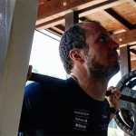 Ralph Weber stemmt fleißig Gewichte