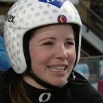 Tina Weirather mit Bestzeit beim Abfahrtstraining der Damen in Schladming