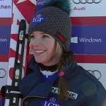 Fürstliche Belohnung für Tina Weirather durch Sieg beim Super-G der Damen in Garmisch