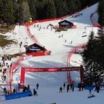 Lauberhorn News: Schneemangel im untersten Teil des Slalomhanges