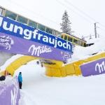 85. Internationale Lauberhornrennen: Abfahrt eingeschneit!