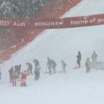 Frau Holle wird in Wengen aktiv: Schneefall in der Nacht auf Samstag prognostiziert