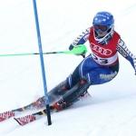 Schwedin Hanna Westman dreht beim FIS-Slalom der Damen in Kåbdalis den Spieß um