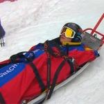 Jacequeline Wiles verletzt sich bei Sprintabfahrt in Garmisch-Partenkirchen schwer