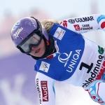 Mit Startnummer 1 zum Erfolg: Tessa Worley führt nach dem 1. Lauf im Damen-WM-RTL
