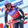 Französische Meisterschaften: Auch im Super-G hatte Tessa Worley die Skispitzen vorne