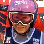 Tessa Worley hat nach dem ersten Riesenslalomdurchgang in der Lenzerheide die Nase vorn