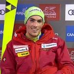Daniel Yule hat im ersten Slalomdurchgang von Madonna di Campiglio die Nase vorn