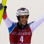 Auch heuer kam beim Slalom in Madonna di Campiglio niemand an Daniel Yule vorbei
