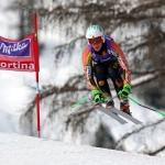 ABGESAGT: Das 2. Abfahrtstraining der Damen in Cortina d'Ampezzo wurde abgesagt.