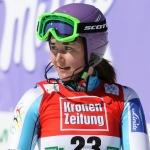 Sarka Zahrobska gewinnt Europacup Slalom der Damen in Lenggries am Freitag