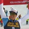 Zwei-Meter-Mann Ramon Zenhäusern ist dank des Slalom-Erfolgs in Kranjska Gora der Größte