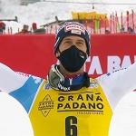 Ramon Zenhäusern siegt beim Slalom auf der Gran Risa