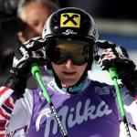 Kathrin Zettel führt nach dem 1. Durchgang beim Slalom in Aspen
