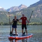 Kathrin Zettel paddelnd zum Erfolg