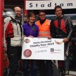 Ski-Ass Kathrin Zettel zeigt ihr soziales Herz