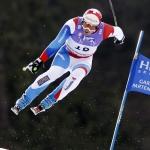 WM Super-G der Herren in Schladming:  Silvan Zurbriggen disqualifiziert